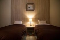 シモンズ製マットレスのベッドルーム