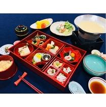 1周年記念プラン限定の京懐石「和光庵」の特別精進料理