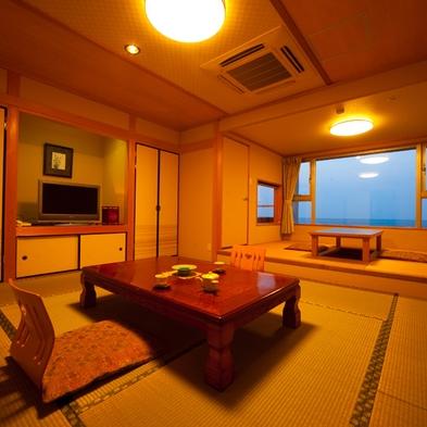 お部屋のお風呂も温泉!フィットネスオープン!陶器風呂付客室で別府湾一望(お食事なしプラン)