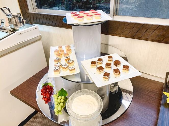 朝食※一例 デザートコーナー