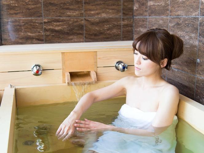 【客室露天風呂】箱根でも希少な「全室天然温泉露天風呂」プライベート温泉を心ゆくまでご堪能ください
