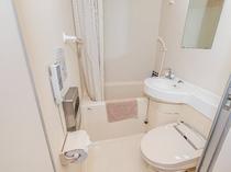 客室のバス・トイレ
