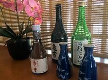 日本酒3種