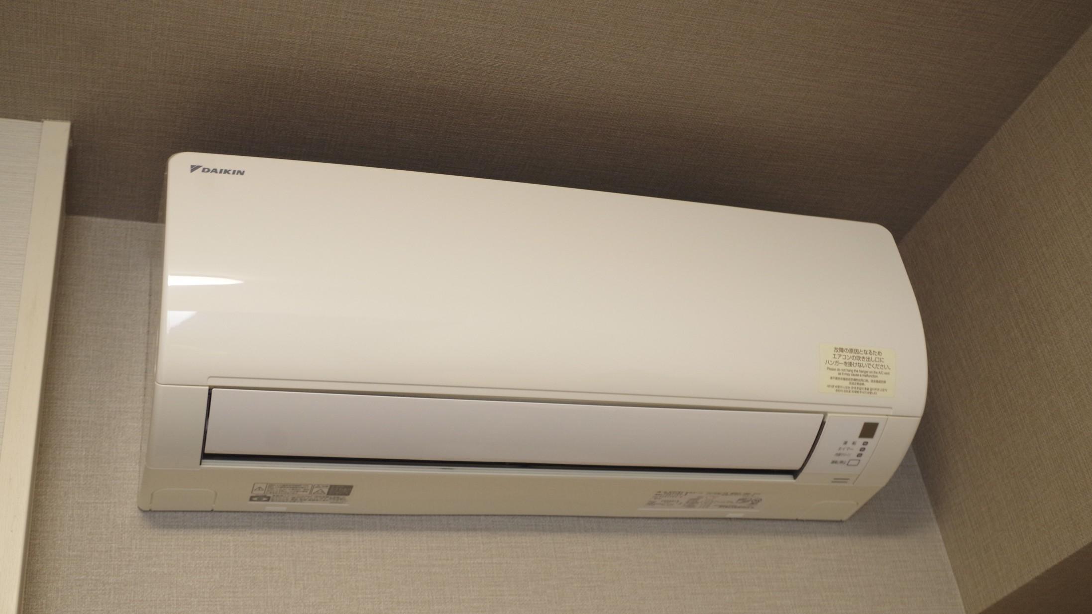 【客室】エアコン