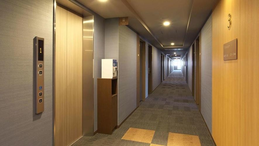【館内設備】エレベーターホール