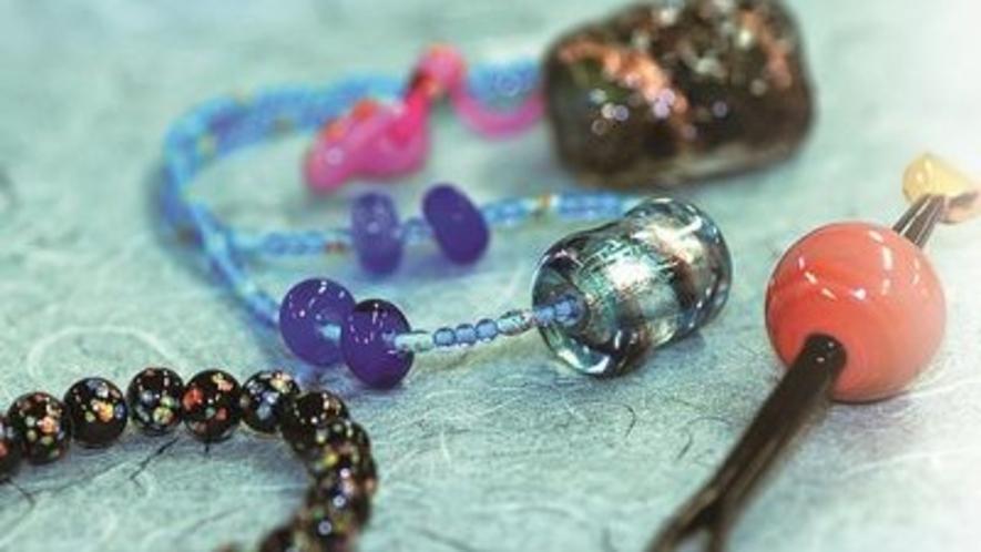 ◆和泉蜻蛉玉・・・大阪の伝統工芸品に指定されています。