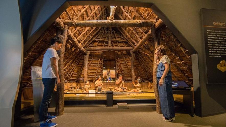 ◆大阪府立弥生文化博物館(ホテルより車で約20分)