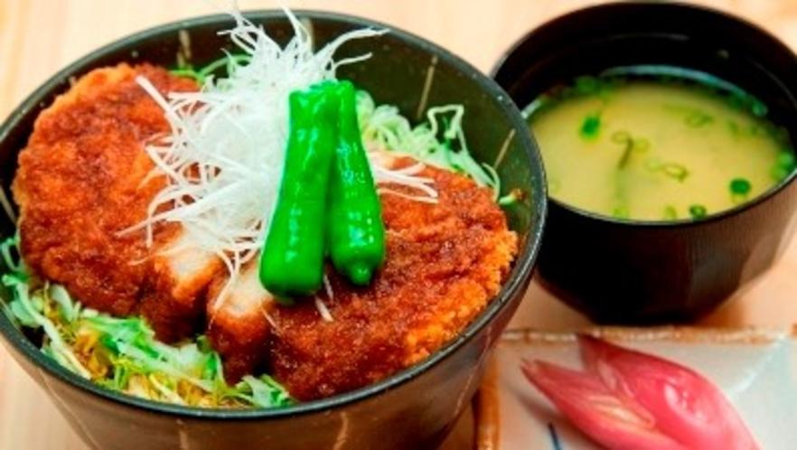 【夕食イメージ】ソースカツ丼