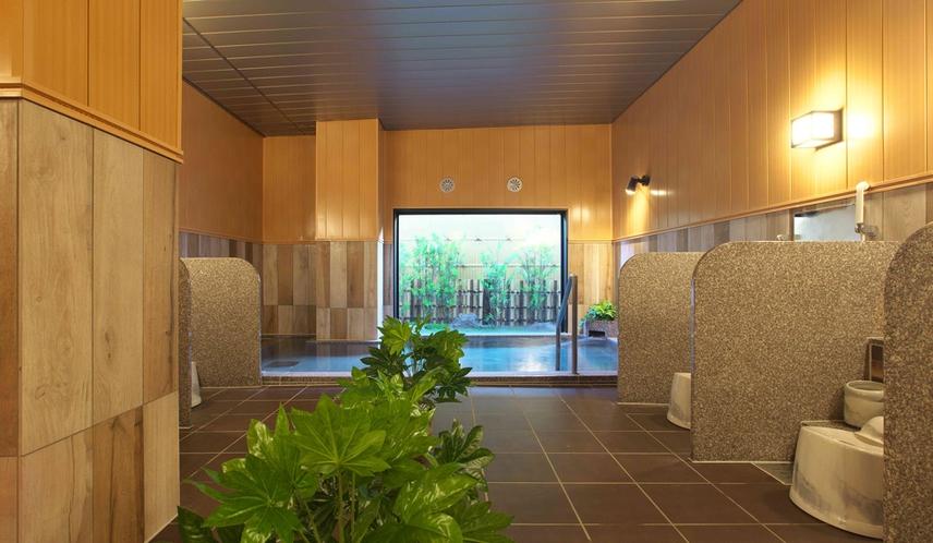 【大浴場】ラジウム人工温泉