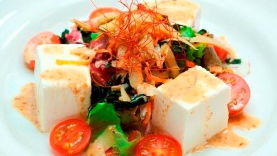 【夕食イメージ】豆腐サラダ