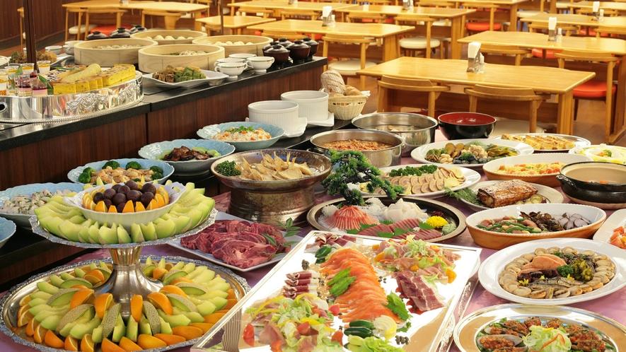 ◆夕食バイキング