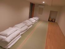 ●気分はまるで修学旅行 最大6人で泊まれる和室のお部屋