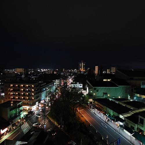 ≪客室から望める三島市内≫最上階客室から三島の展望をお楽しみ頂けます♪