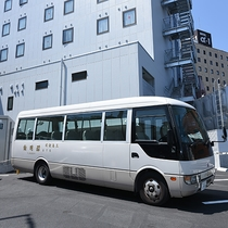 *【送迎用シャトルバス】団体でご予約のお客様、送迎可能です。要ご相談・事前予約制。