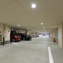 *【館内地下/駐車場】1泊1,080円にて先着順でご利用頂けます。