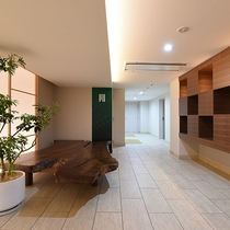 *【館内/エントランス】綺麗で清潔な館内でお客様に寛いで頂けるよう、心からお客様をお迎え致します。