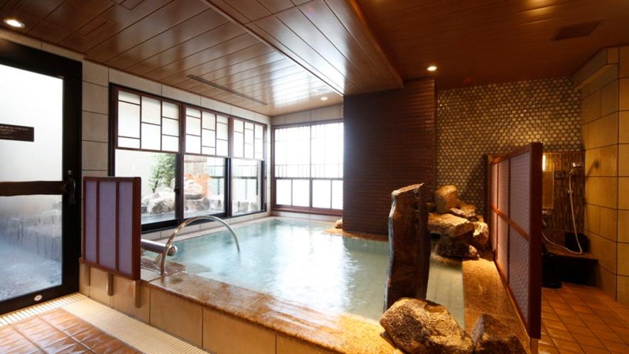 【女性】内風呂(湯温:40~41℃)