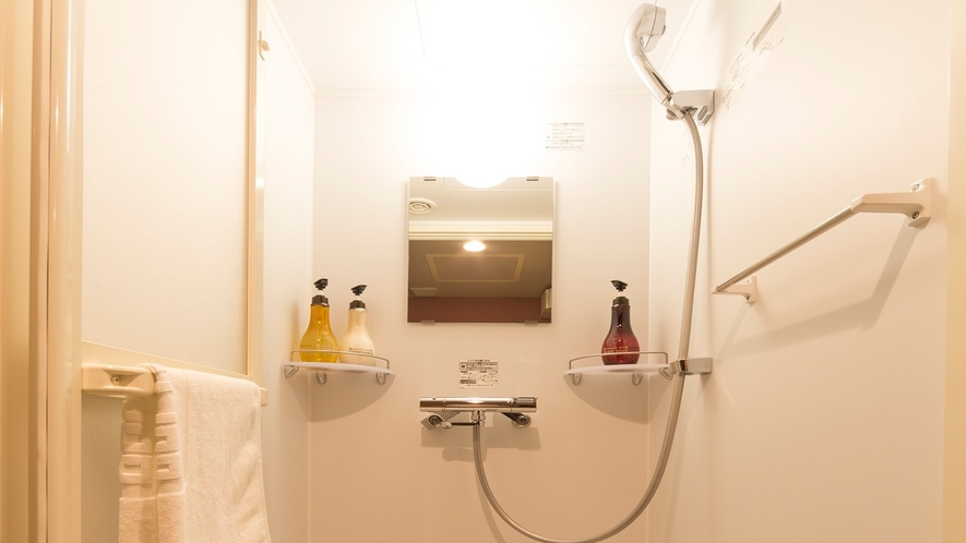 【客室】シャワーブース