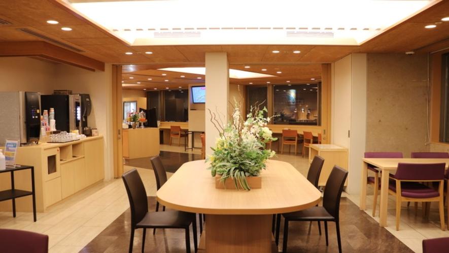 朝食レストラン2階-HATAGO- 座席数33席