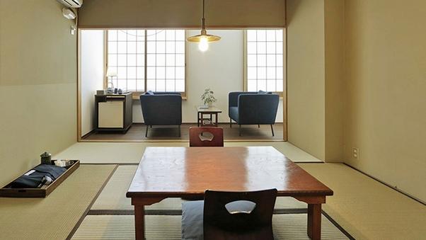 【料理屋の個室食】和室8畳(バス・トイレ付)