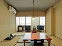 【和室8畳】(広縁・バス・トイレ付)ご夫婦やカップル、ご友人同士などにバス付のお部屋です。