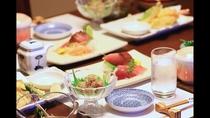 【ご夕食】ごゆっくりとお食事をお愉しみください。