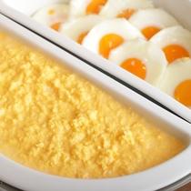 【朝食ビュッフェ】 朝食例 卵料理