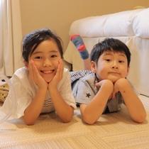 琉球畳のお部屋ございます
