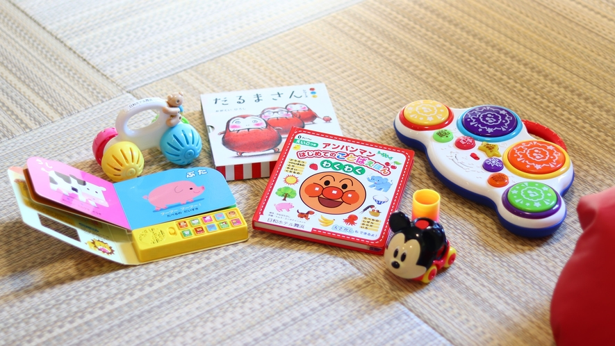 おもちゃ&本(消毒済み)