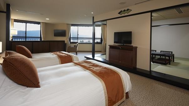 和洋室(上階3階・富士山ビュー)