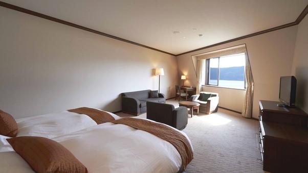 デラックスツイン(最上階4階・富士山ビュー)