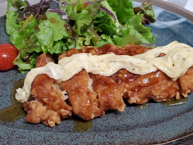 夕食:チキン南蛮