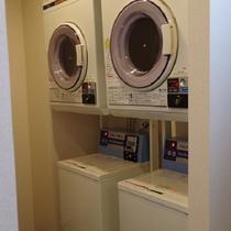 洗濯機、乾燥機ご利用いただけます