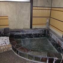 *お風呂一例】源泉掛け流しの温泉を何度でもお愉しみいただけます。