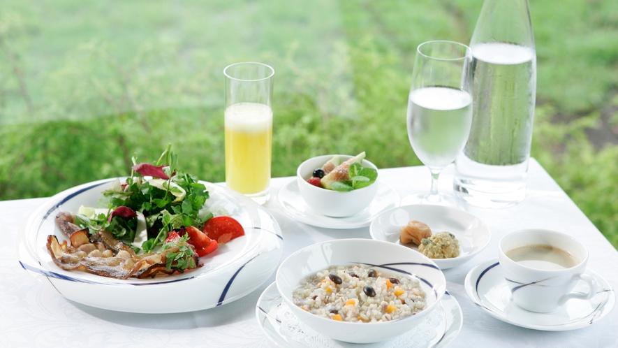 フレンチジャポネのご朝食