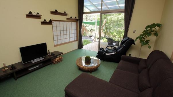 【水】客室+専用ガーデン=160平米