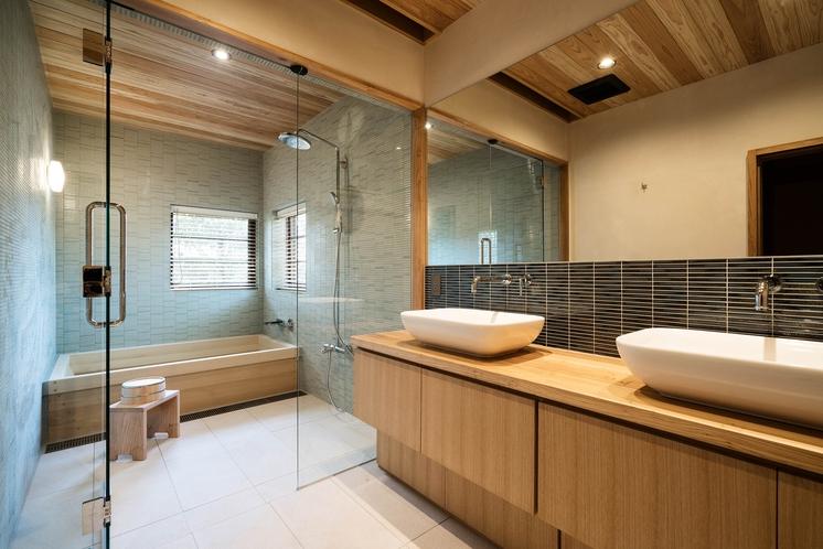 勝目邸 浴室