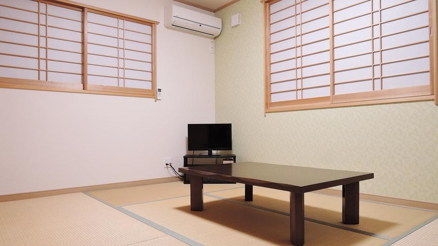 *【客室一例:和室】足を伸ばしてお寛ぎ下さい。