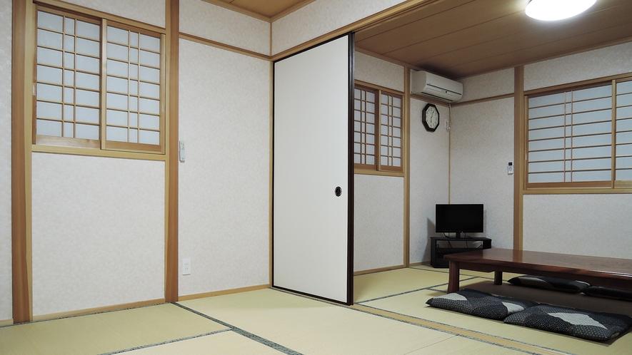 *【客室一例:和室】和室の布団敷きはセルフでお願いしております。