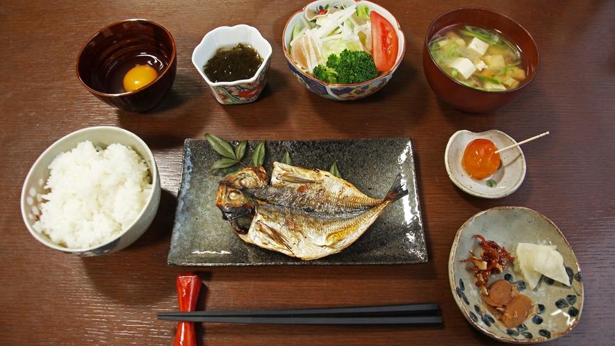 *【朝食一例】食べる温泉朝ごはん