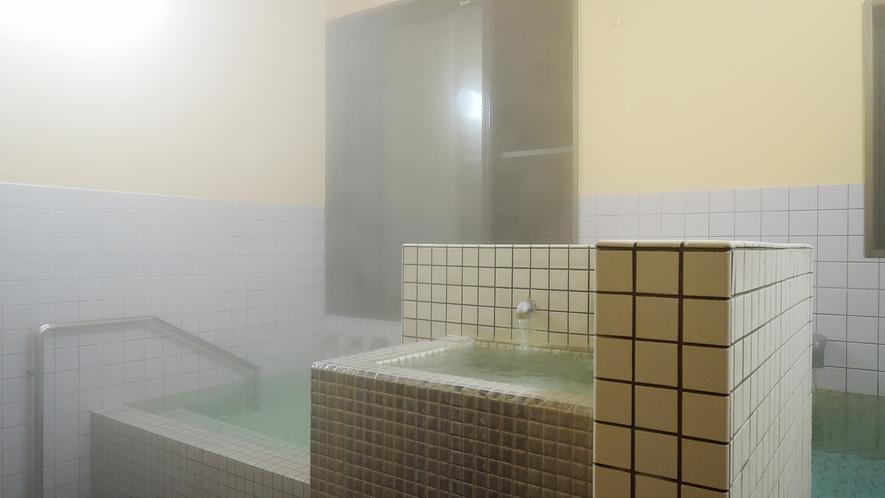 *【浴場(男湯)】西郷さん愛好の名湯を贅沢にかけ流しで☆