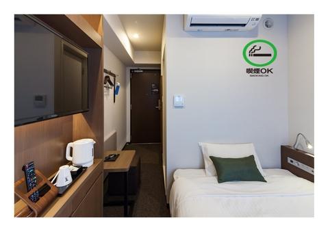 【喫煙】セミダブル 130cm幅ベッド Wi-Fi完備