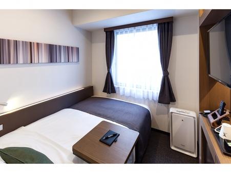 【禁煙】セミダブル 130cm幅ベッド Wi-Fi完備