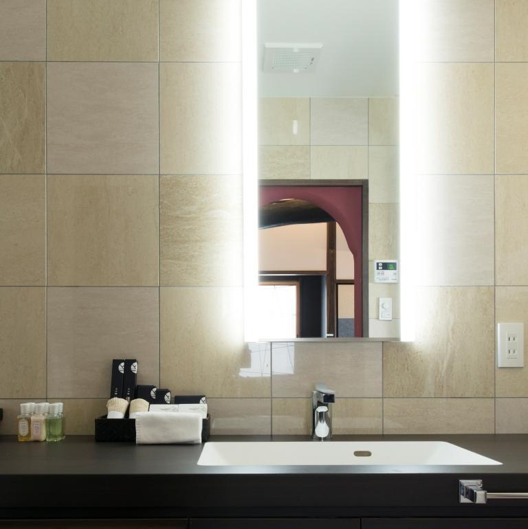 デラックスダブル&ツインルームのバスルーム