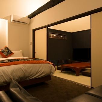 【扇】47平米の洋室 ダブル ルーム