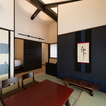【七軒】49平米の和洋室 デラックスツインルーム