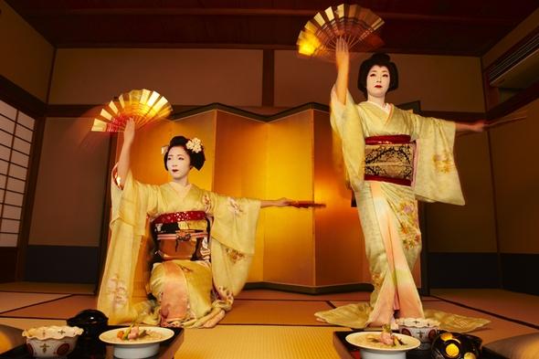 【京都最古の花街で優雅な夜を】舞妓 お座敷プラン
