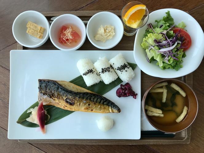 【期間限定朝食】鯖の文化干し