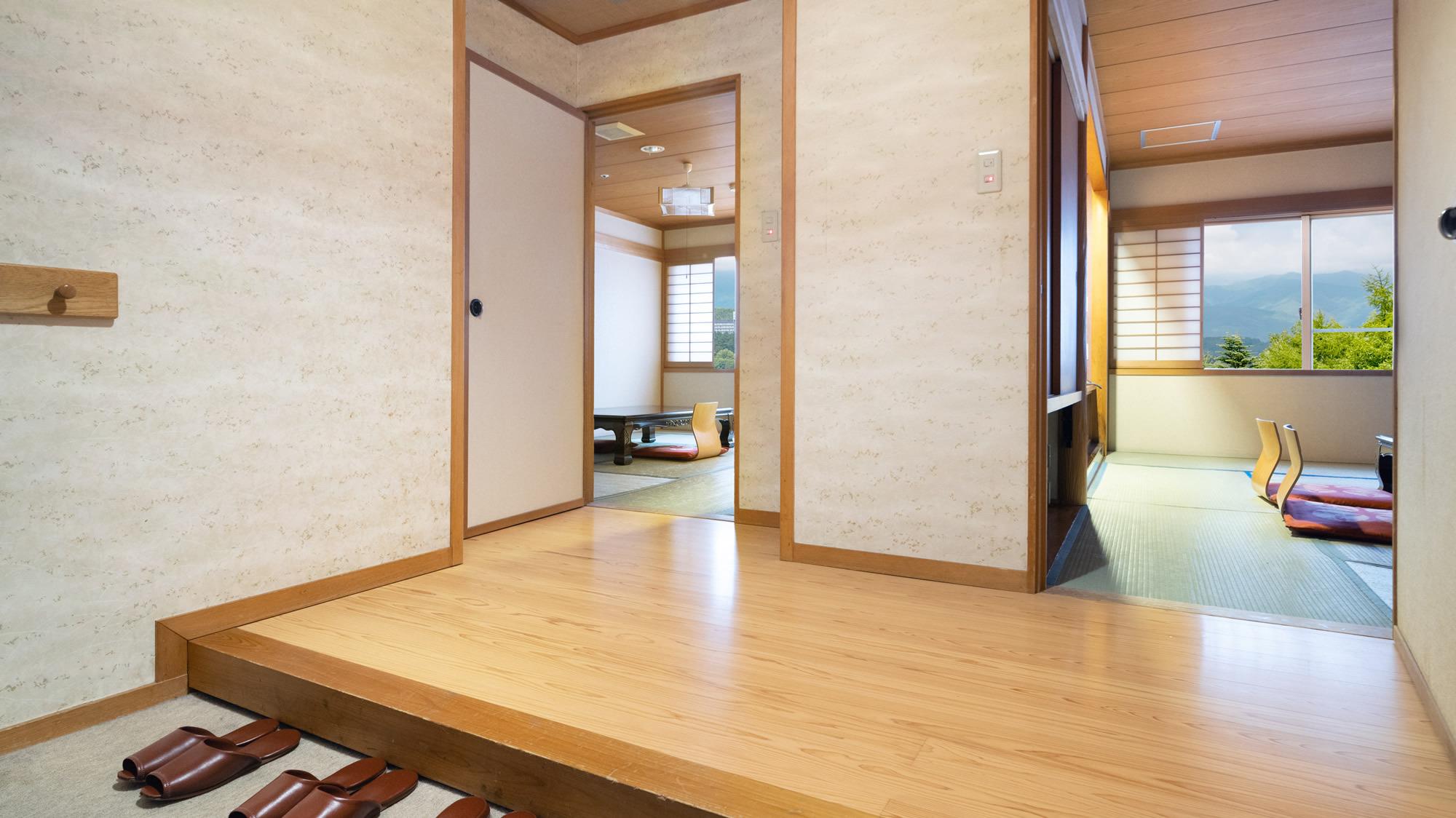 【和室10畳+8畳】独立した2つの和室を備えたお部屋