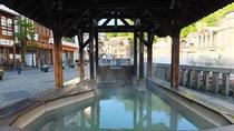 【湯けむり亭】湯畑すぐ横にある24時間無料で入れる足湯